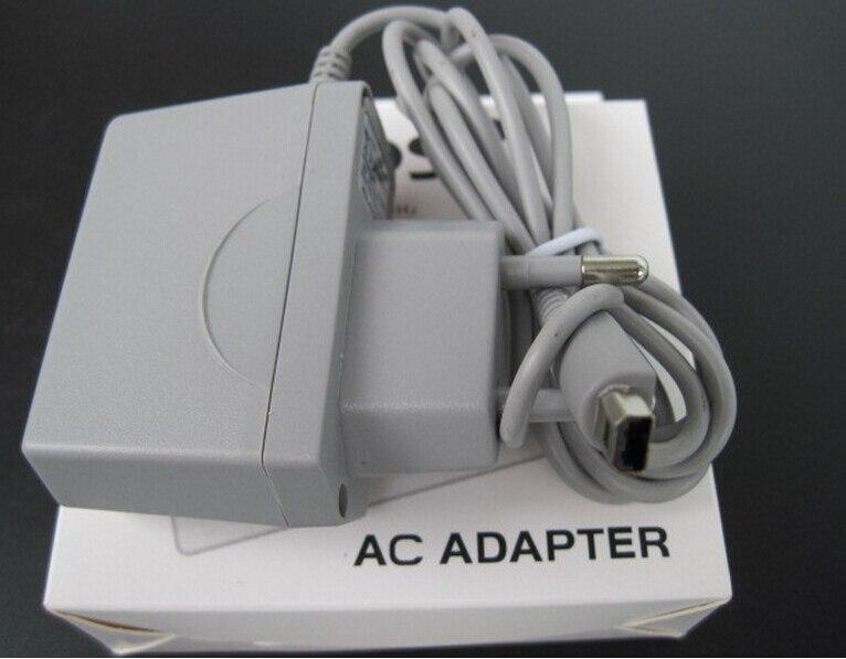FZQWEG para 3ds XL LL EU cargador AC adaptador de viaje cargador de pared para el hogar