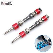 Mirbest RC DIY Parts For FY-03/06/07 JJRC Q39 Q40 Metal Front wheel drive shaft Upgrade accessories