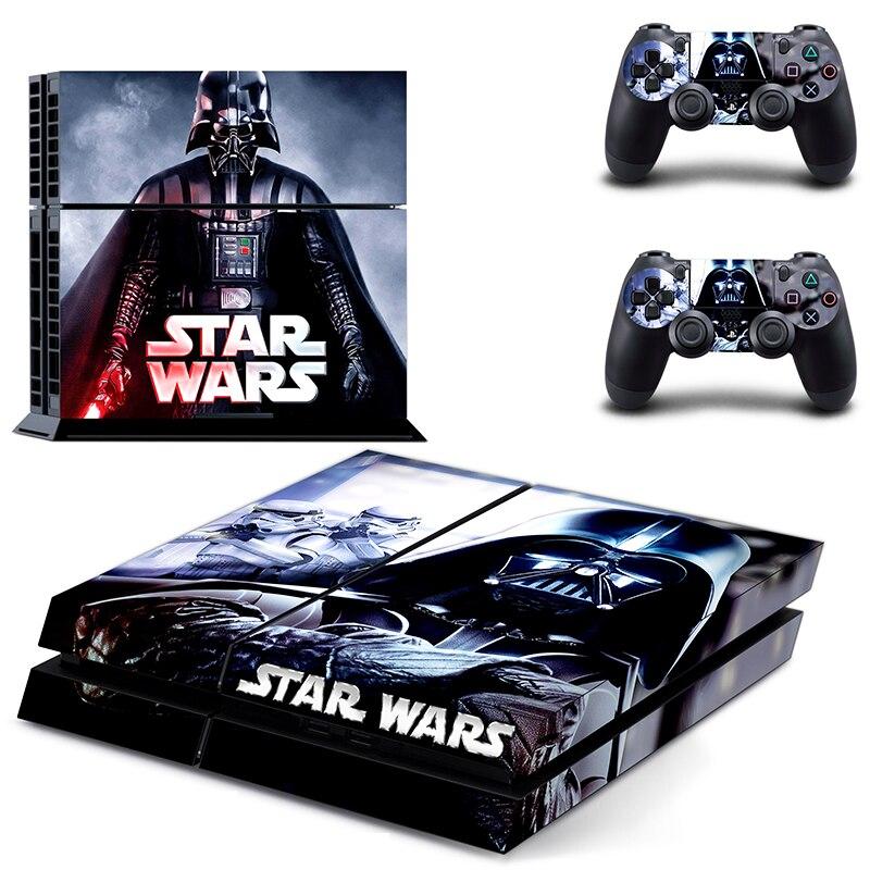 Звездные войны виниловая наклейка кожа для Sony playstation 4 консоль + 2 контроллера наклейки для PS4
