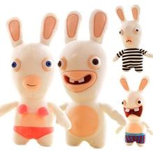 Plush Toys for Girls Children Crazy Rabbit Dolls Stuffed Animals Funny Bucktooth   Gift