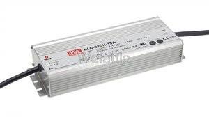 MEAN WELL original HLG-320H-24B 24V 13.34A HLG-320H 24V 320.16W IP67 Single Output LED PMW Dimming Driver Power Supply B type