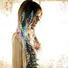Coloré papillon lumière tresses LED perruques brillant Flash cheveux LED tresse pince Haripin décoration Ligth Up Halloween cheveux accessoires