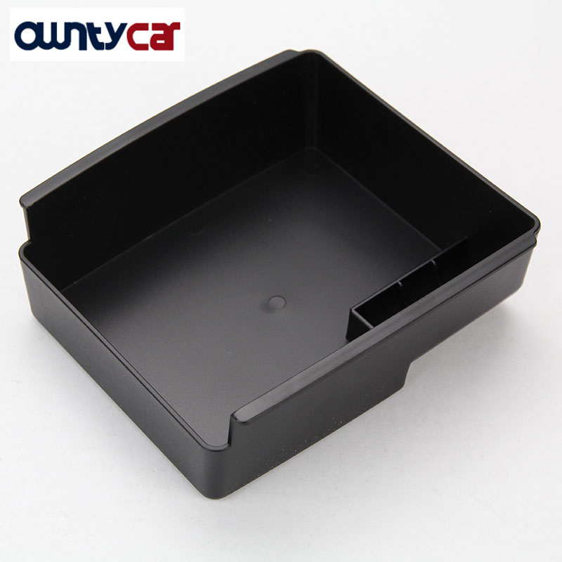 Автомобильный подлокотник для Volvo V40 V40CC, коробка для хранения, контейнер для телефона, поднос, автомобильный органайзер, аксессуары, Стайлин...