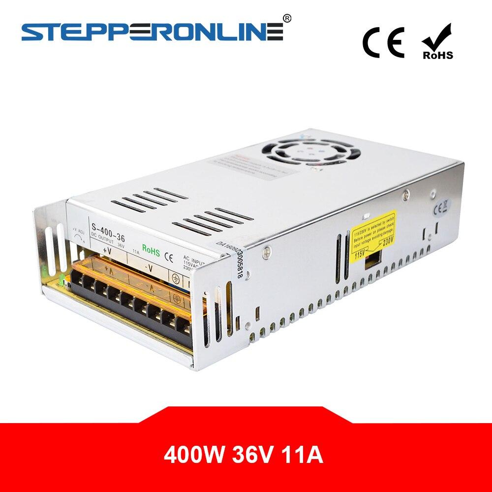 400W 36V 11A 115/230V تحويل التيار الكهربائي ل محرك متدرج 3D طابعة CNC راوتر أطقم