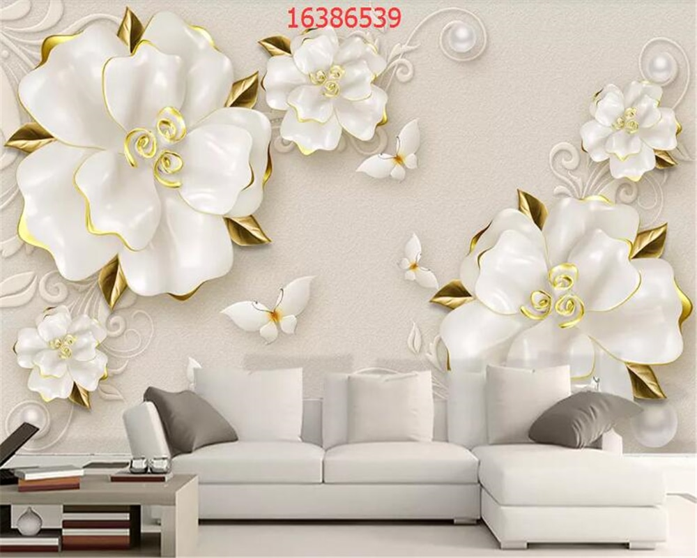 beibehang vinyl wall custom abstract 3d square crystal rose wallpaper tv background wallpaper home decoration papel de parede 3d beibehang Custom size HD 3D embossed beige rose jewelry background wall home decoration mural wallpaper papel de parede behang