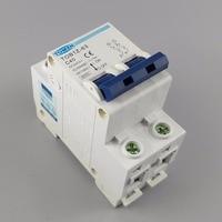 2P 40A DC 440V Circuit breaker MCB C curve
