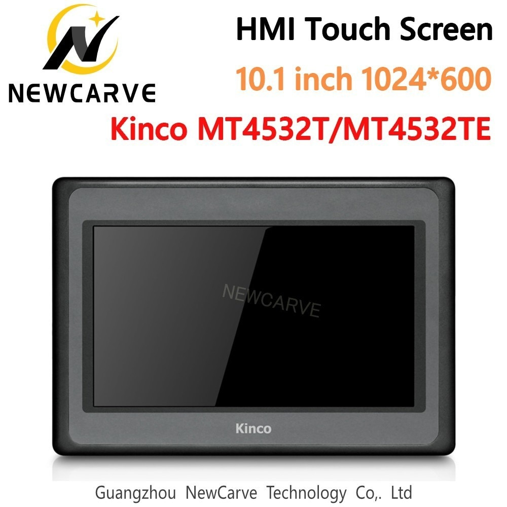 Kinco mt4532t mt4532te hmi tela de toque 10.1 Polegada 1024*600 ethernet 1 usb host nova interface máquina humana newcarve