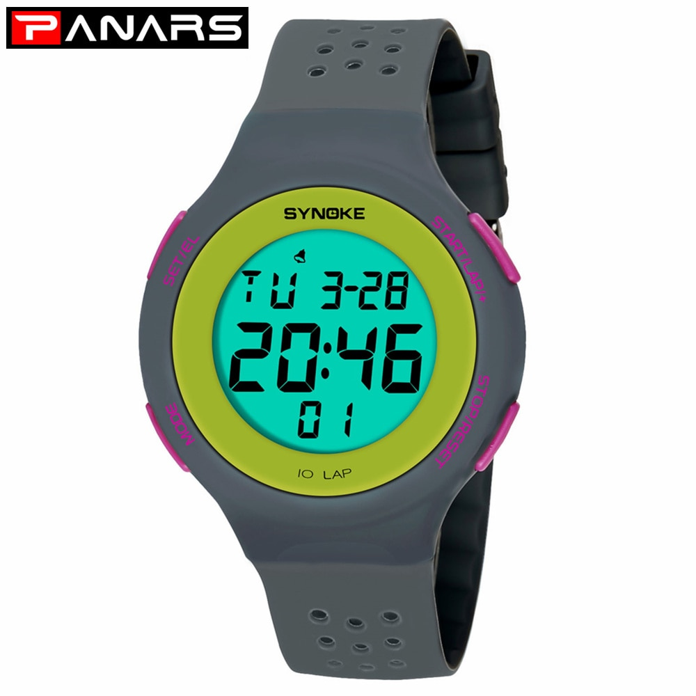 PANARS Reloj de pulsera para hombre, Reloj de pulsera LED para deporte militar, analógico, Digital, a prueba de agua, relojes Led para hombres y mujeres, Reloj Masculino 67866