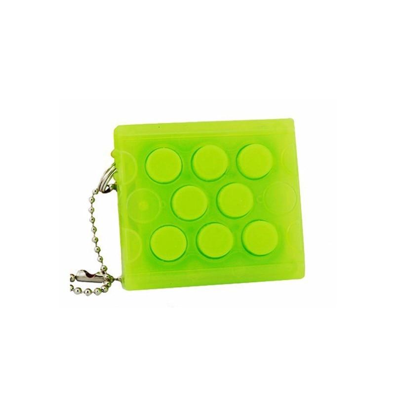 6 couleurs enfant presser emballage Gadget fou sans fin enveloppement chaîne nouveauté jouets adulte Anti-Stress bulle jouets chauds