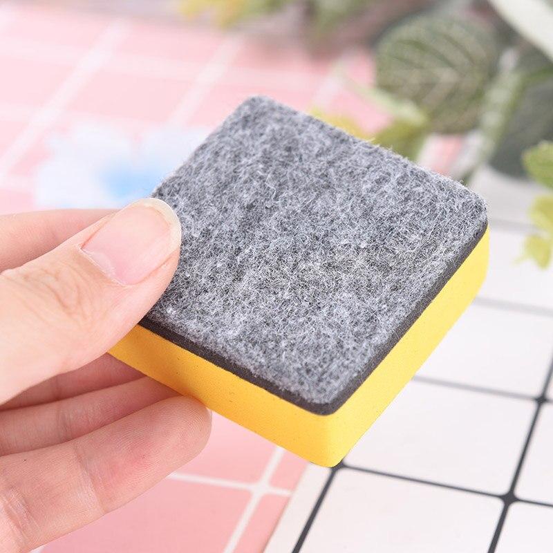 2 unid/set de borradores de pizarra blanca magnéticos marcador limpiador de pizarra blanca útiles escolares de oficina