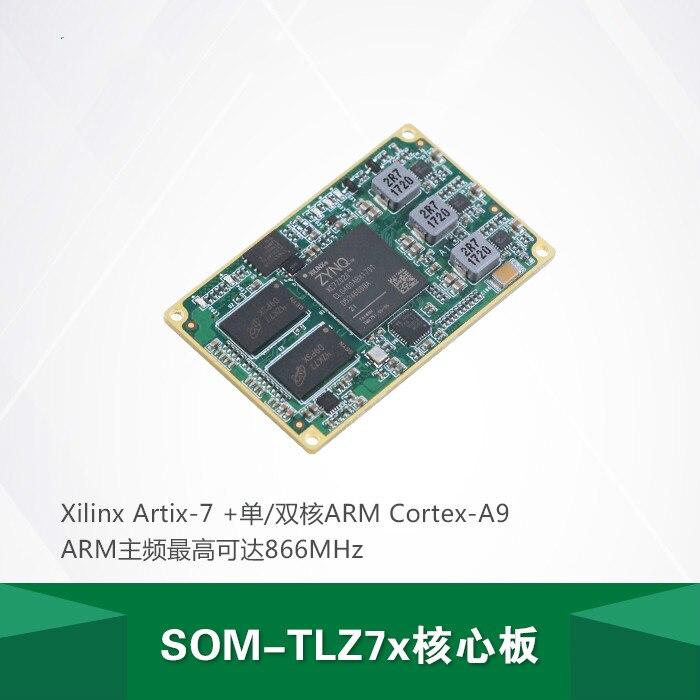 SOM-TLZ7x Placa de núcleo ZYNQ-7000 SoC 7010/7020 Cortex-A9 + Artix-7