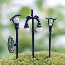Lampe Miniature Vintage bricolage créatif 1 pièce   Décoration de jardin maison, Mini Micro, Micro aménagement artificiel