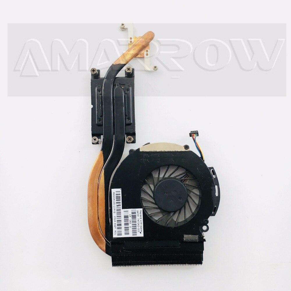 Nuevo Original ordenador portátil disipador de calor del ventilador de refrigeración refrigerador de la cpu para HP TPN-F112 TPN-F11 TPN-F113 TPN-F114 TPN-F115 15-D 774242-001