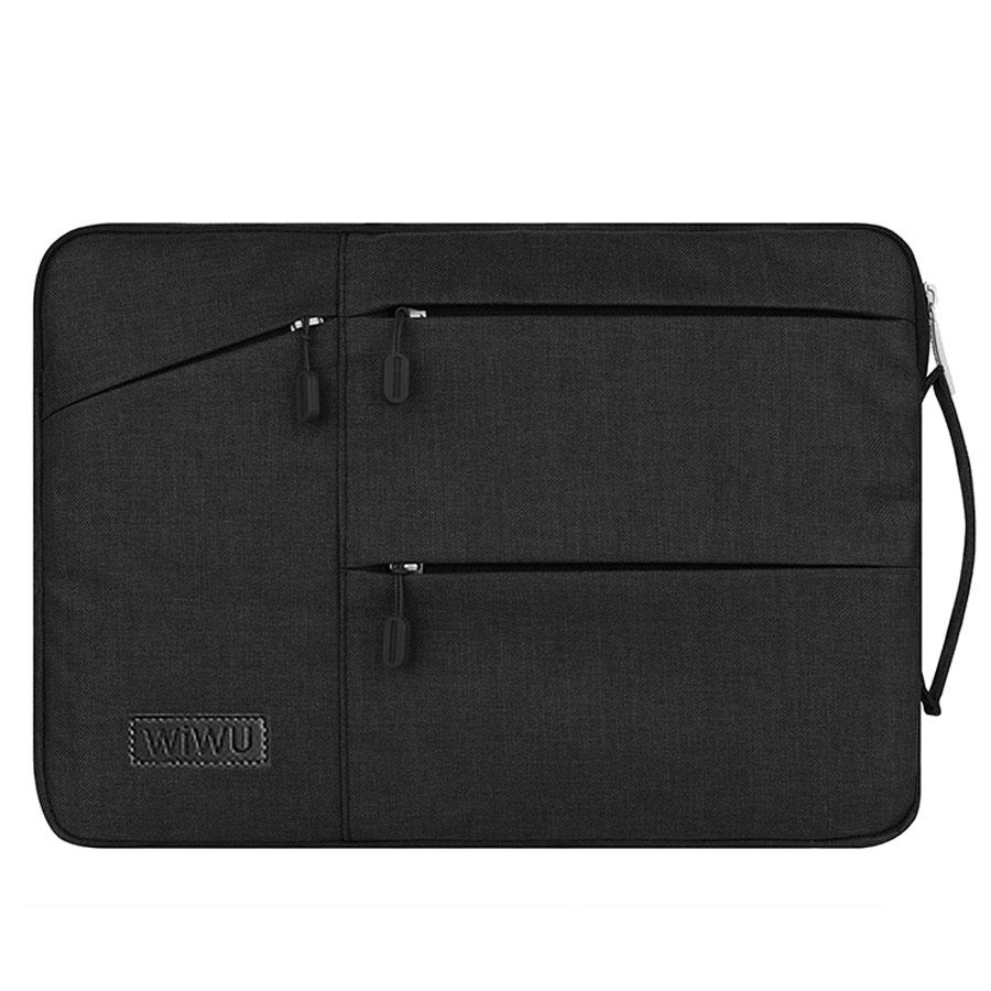 WIWU Waterproof Laptop Bag Case for MacBook Pro 13 15 16 Bag for Xiaomi Notebook Air 13 Shockproof Nylon Laptop Sleeve 14 15.6