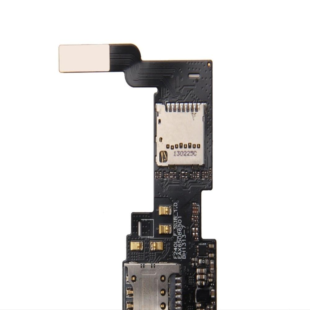 H IM Karte und Sd-karte Reader Flex Kabel für LG Optimus G Pro/F240