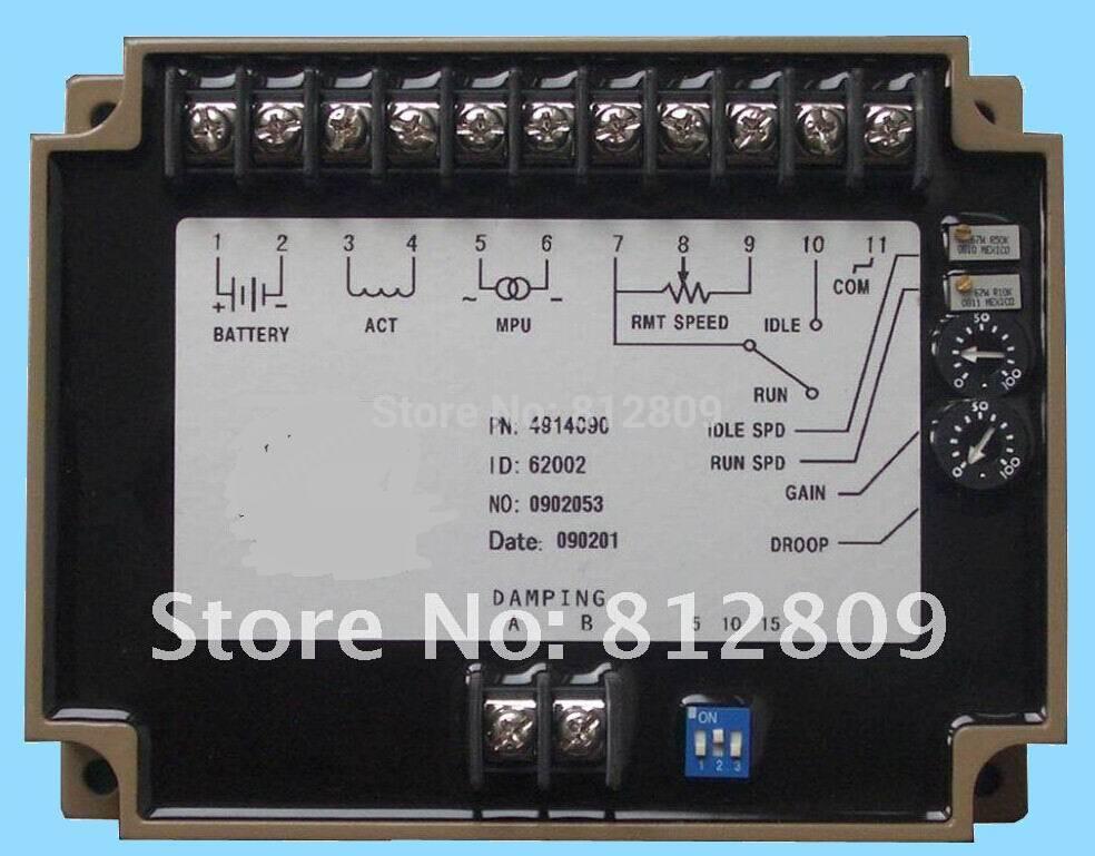 diesel generator speed control unit 4914091