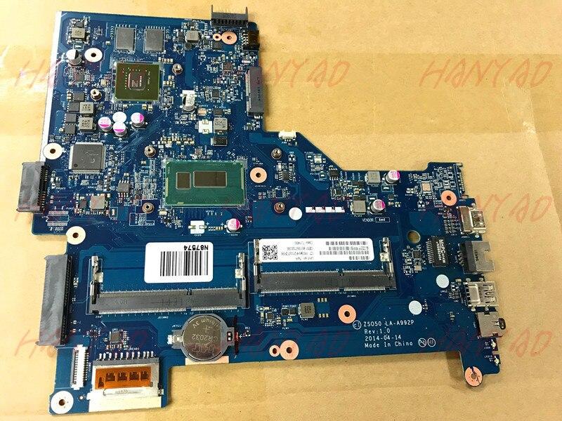 792302-501 para HP pabellón 15-R placa base de computadora portátil i7 cpu LA-A992P DDR3 envío gratis 100% prueba ok