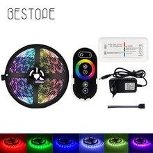 Bestope, tira de luces LED RGB, 4,5 M, 2835, 5050 SMD, 60Leds/M, controlador RF de luz táctil + adaptador de corriente DC12V, conjunto completo
