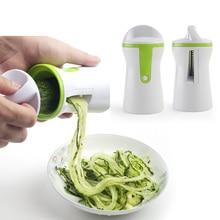 1PC ménage acier inoxydable alimentaire Cutter travail économie outil pour légumes et Fruits cuisine outil accessoires spirale trancheuse