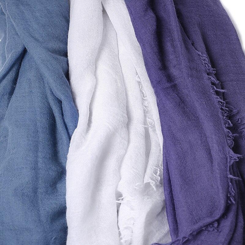 سوبر كبير حجم 100% الماعز الكشمير النساء أنيقة رقيقة وشاح شال الباشمينا 200x100 سنتيمتر الأبيض 3 اللون