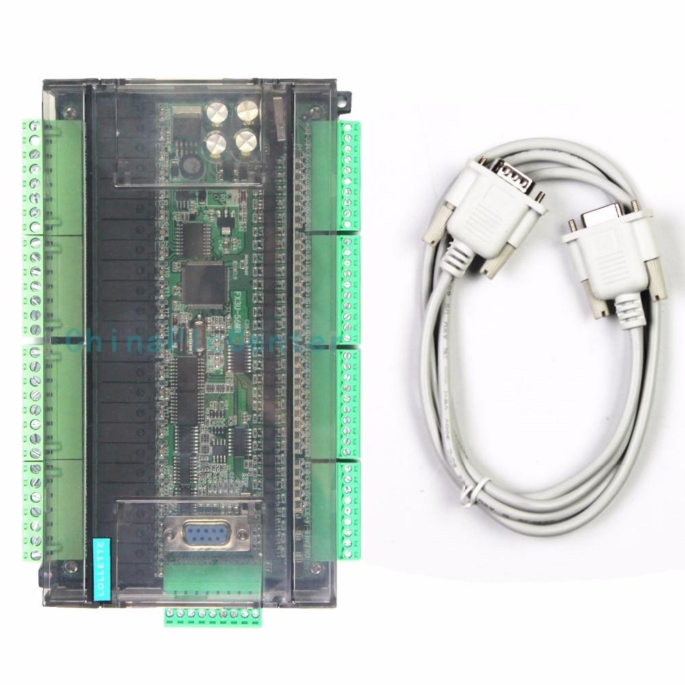 LE3U FX3U 56MR 6AD 2DA 32 вход 24 релейный выход 6 аналоговый вход 2 аналоговый выход plc контроллер RTC (часы в реальном времени)