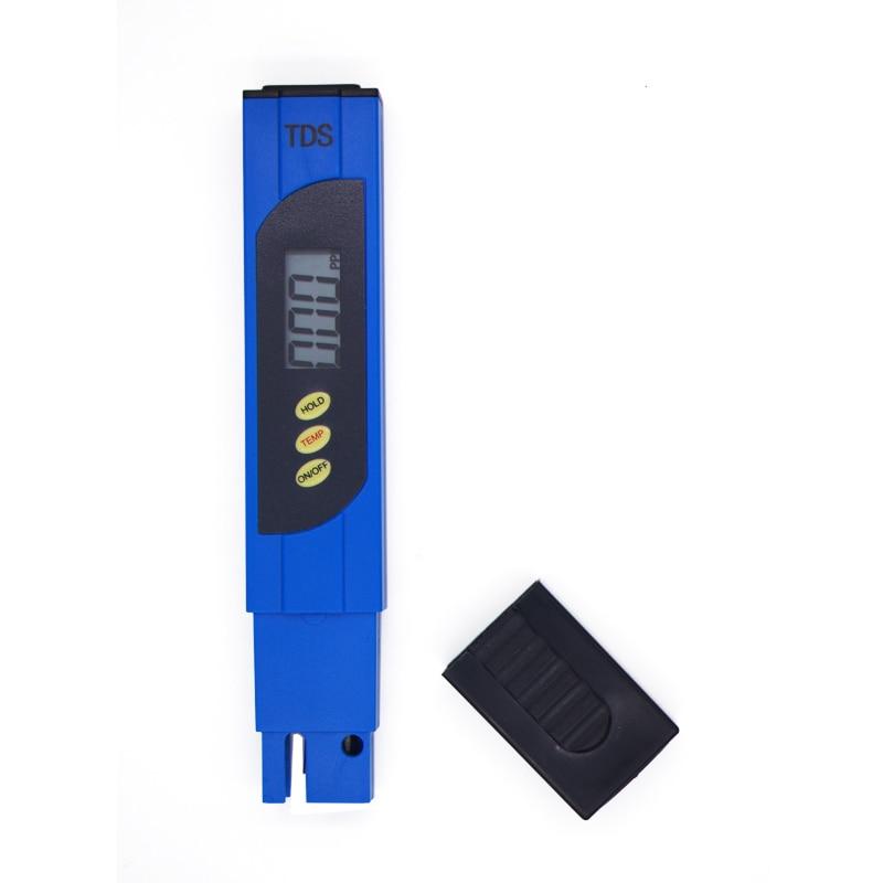 50 unids/lote por DHL Fedex pluma calidad del agua TDS medidor de pureza TDS Monitor Tester palillo de análisis vino orina laboratorio titanio sonda