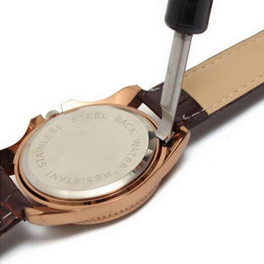 Herramienta de reparación de reloj, abridor de caja de reloj, cuchilla, cubierta trasera, removedor de palanca para reemplazo de batería, accesorio de reloj, herramienta de reparación al por mayor
