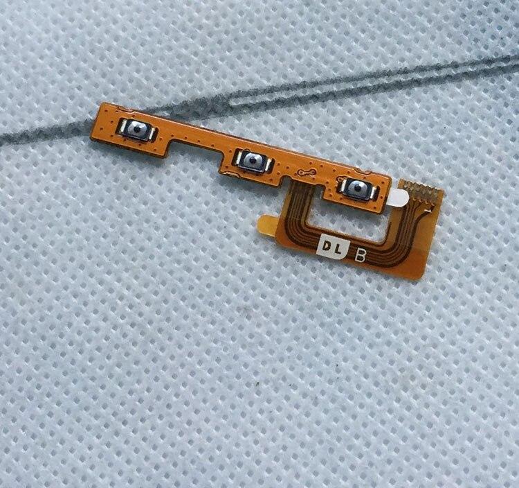 Nova chave de volume k6000 pro com o cabo de ligar/desligar botão flex fpc para 5.5 polegada oukitel k6000 k6000 pro telefone celular frete grátis