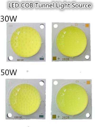 Cirkel LED COB lichtbron led chip lamp 20 W 30 W 50 W 1500MA Mold top 22mm * 28mm voor schijnwerper hoge helderheid Track Verlichting