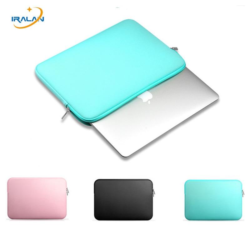 "2017 Fashion Soft Sleeve Case For apple Macbook AIR PRO Retina 11"",12"",13"",15 Notebook Bag 14"" 15.4 13.3 computer Laptop Bag"