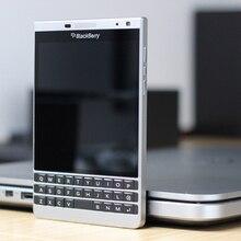 Entsperrt Original Blackberry Q30 Passport Silber Edition Telefon 3GB RAM 32GB ROM 13MP Kamera, Freies Verschiffen