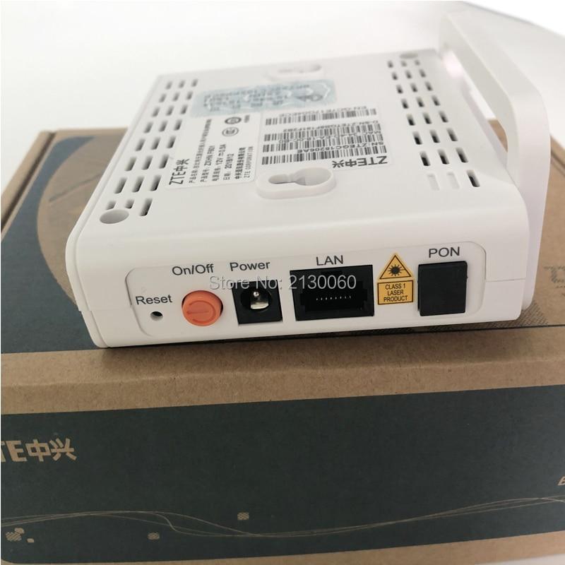Free Shipping ZTE F601 GPON Terminal ONT Optical Terminal 1GE Port same function as ZTE F401 F643 F660 ONU
