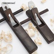 Travail du bois Mini outil à main plan plat bord inférieur rabot bois charpentier coupe plan Woodcraft bricolage Case cadeau pour menuiserie