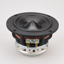 HIFIDIY AUDIO hifi 4.7 inch 4.5 120mm Pure Midrange Full frequency speaker unit 6OHM 50W midbass loudspeaker M4-120N
