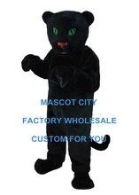 Panthère Cub Mascotte Costume de luxe adulte taille forêt Animal sauvage bébé Cosply Costume carnaval Mascotte Mascota Costume SW1075