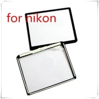 NEW LCD Screen Window Display  Acrylic  Outer Glass For NIKON D300 Camera Screen Protector   Tape