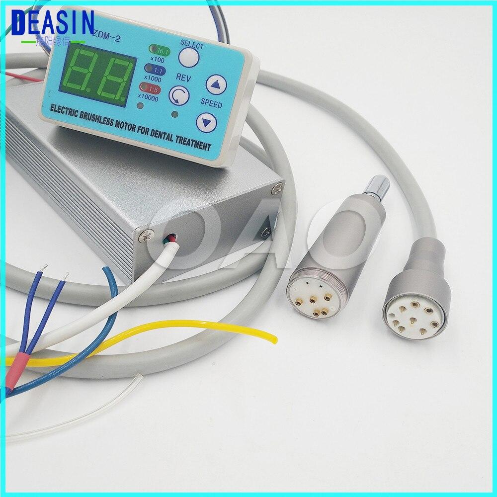 Deasin-وحدة رش الأسنان مع كابل محرك كهربائي دقيق ، مدمج بدون فرش ، متوافق مع NSK NLX ، نانو ، رذاذ الماء الداخلي مع الألياف البصرية