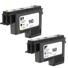 Véritable 2-Pack 940 tête dimpression C4900A & C4901A pour HP OfficeJet Pro 8000 8500 pièces dimprimante