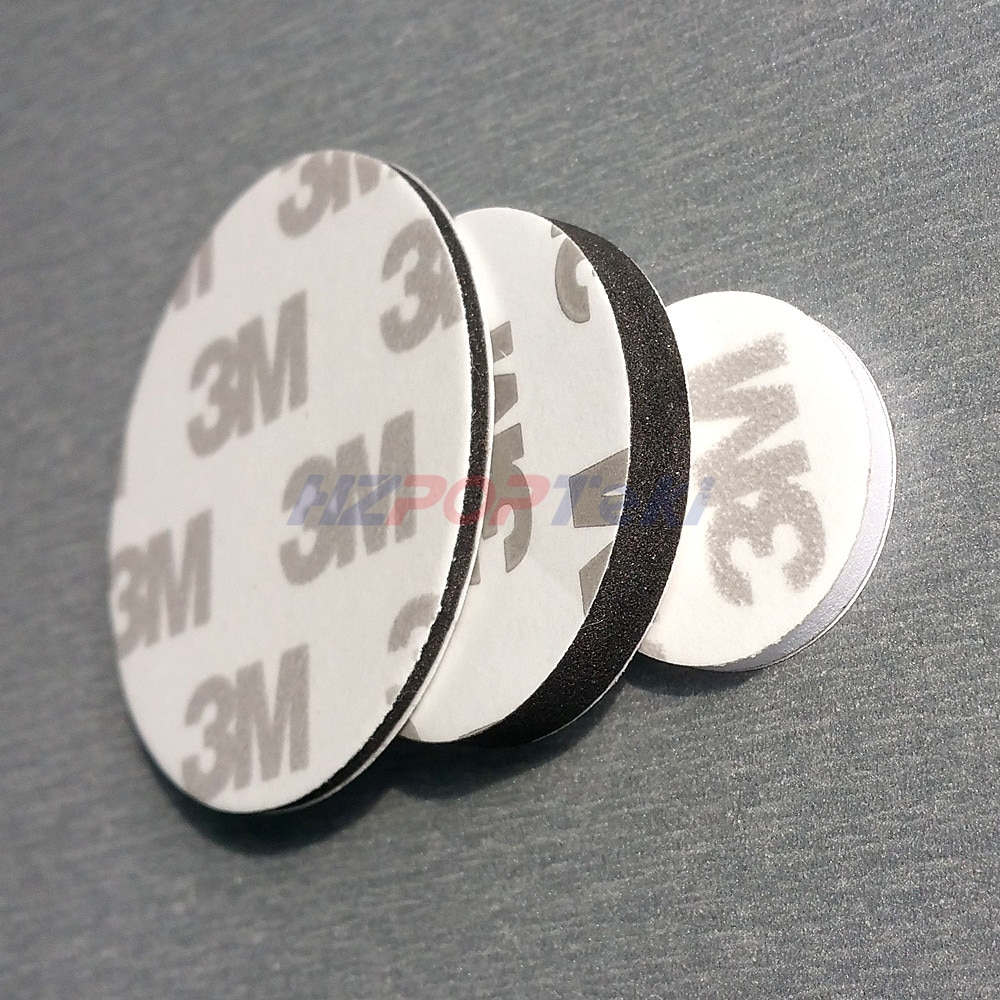 Round Dia.10mm Strong Adhesive EVA Foam Tape 9080 Stickers Pad Mounting Double Sided in  White or Black Use Broadly 1000pcs