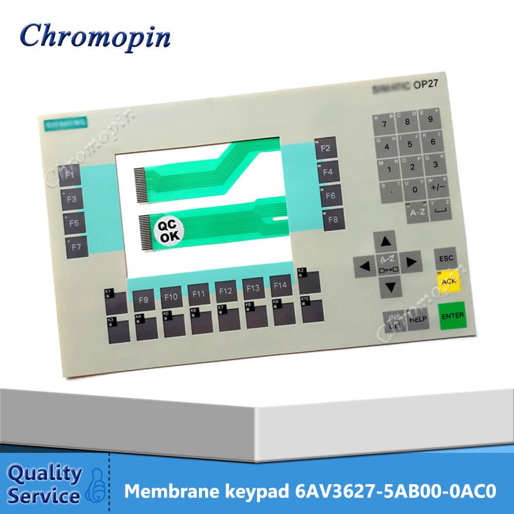 Teclado de membrana para 6AV3627-5AB00-0AC0 6AV3 627-5AB00-0AC0 6AV3627-5AB00-0AD0 6AV3 627-5AB00-0AD0 OP27