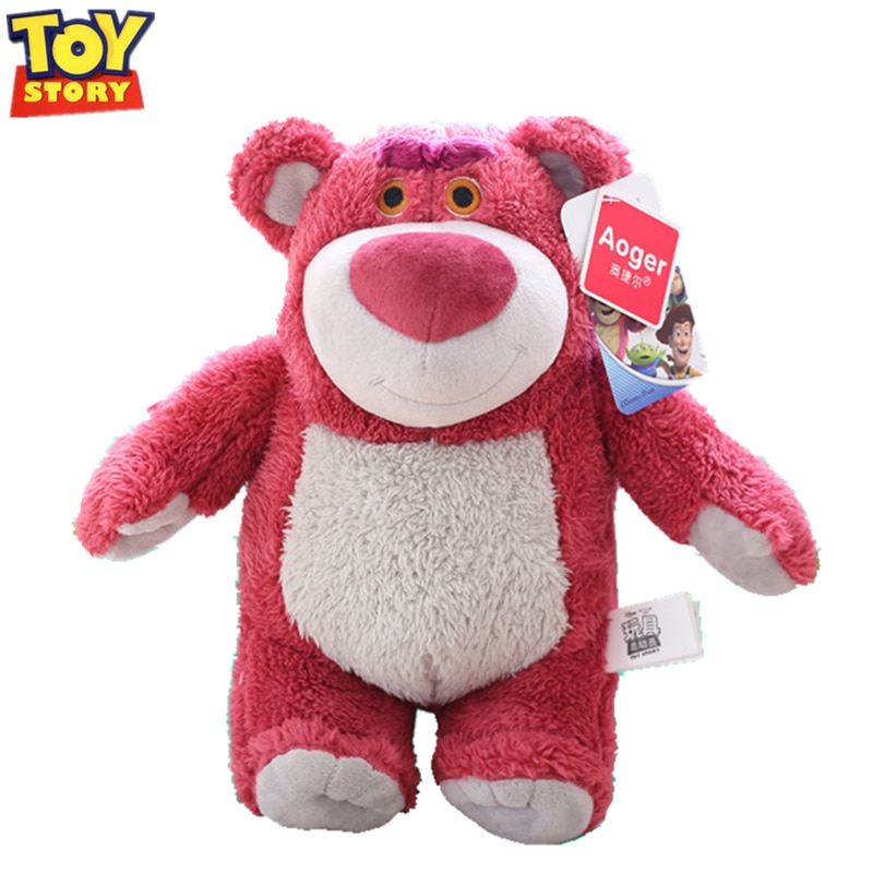 Disney Toy Story 4 toys Pixar Plush Strawberry bear Lotso Woody Buzz Lightyear Forky Alien toy story Model For Children Gift