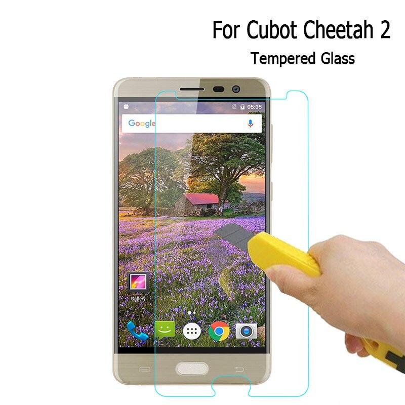 Para Cubot Cheetah 2 película de acero templado vidrio frontal protector repuesto para Cubot Cheetah 2 funda protectora de pantalla