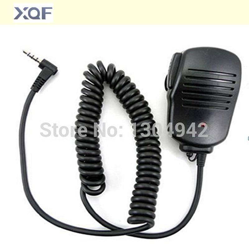 Handheld Speaker Mic 1pin  Walkie Talkie Hand Microphone for Yaesu Vertex VX-1R/2R/3R/5R/VX168/VX160/FT60R Two Way Radio