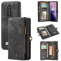 Чехол-Кошелек для Oneplus 7 Pro Чехол для телефона, кожаный