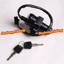 Motocicleta interruptor de bloqueo de ignición con llave para Honda CBR250 CBR1100XX CBR600F2/F3/F1 CBR750 CBR900 893 919 CBR1000F CB1000 etc.