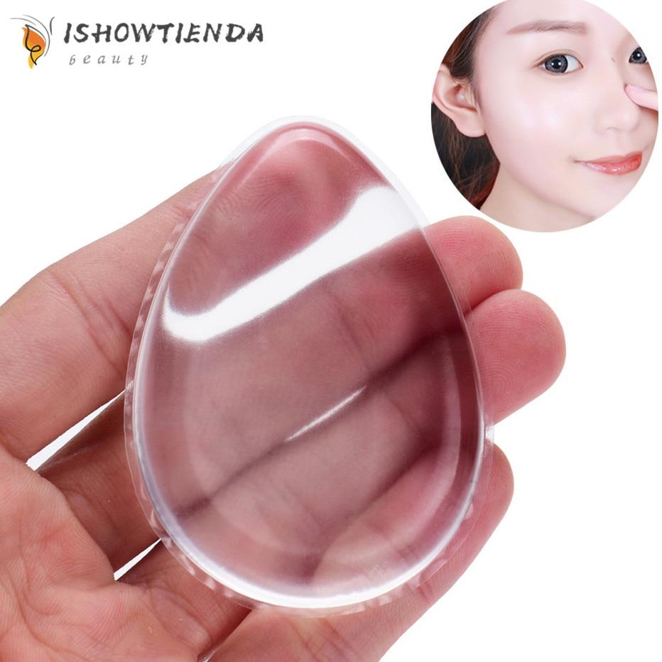 2018 aplicador de maquillaje de silicona antiesponja perfecto para base líquida facial BB Cream Makeup Sponge Puff Essentials