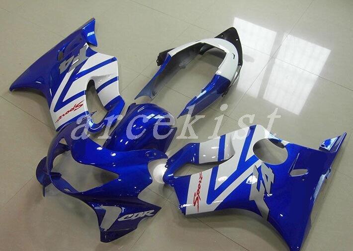 New ABS Injection Mold motorcycle fairings kit Fit for Honda CBR600F4 CBR 600 FS F4 1999 2000 99 00 fairings custom blue white