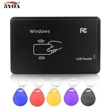 Cloner-copieur RFID, copieur RFID EM4100, lecteur de programmateur, 5 pièces, carte de clé rechargeable EM4305 T5577, 125KHz