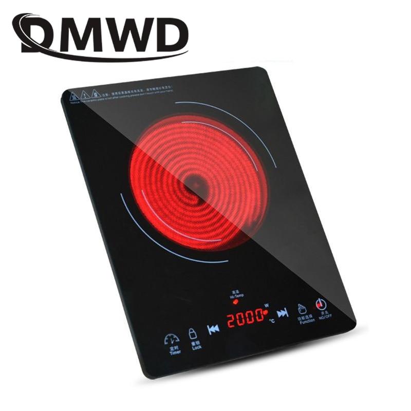 DMWD электрическая мини-плита с керамическим подогревом, нагреватель для молочной воды, нагреватель для бойлера, Стоковая горелка, тушеная ка...