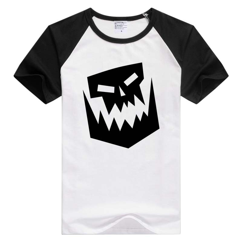 Para Black Ork Insignia manga corta casual hombres mujeres camiseta estampado de moda Tops moda camisetas GA840